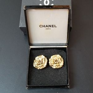 Authentic channel  Camelia Earring